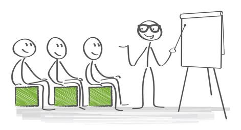 Abbildung; analyse; auskunft; Schulung; board; business; erfolg; business; erfolgreich; erklŠren; workshop; job; kaufmann; mŠnnchen; meeting; Besprechung; seminar; flipchart; weiterbildung; Fortbilddung; textfreiraum, Bildung, Schule, planung; Whiteboard; prŠsentation; prŠsentieren; kommunikation, erklŠren; SchŸler; Mitarbeiter; Bildung; ErklŠrung; Nachhilfe; Lehrer; Dozent; Tafel; zeigen; Vortrag; Strategie; Tagung; vektor, training, coach, coaching