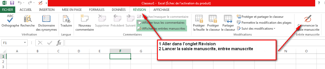 annotation excel