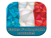 Application android fautes d'orthographe