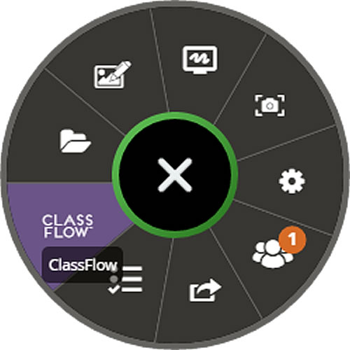 Roue chromatique Classflow