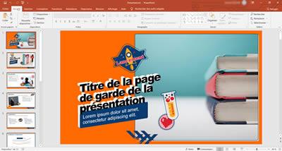 utilisation suite Microsoft 365 pour enseignement presentiel presentation powerpoint