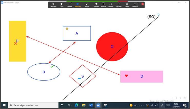 insertion dessin Whiteboard